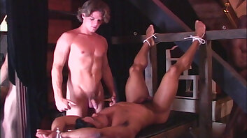 MUSCLE IMPOSSIBLE: James Blond & His Naked Spies Tied Up
