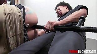 Cop Uses Felon's Gay Ass
